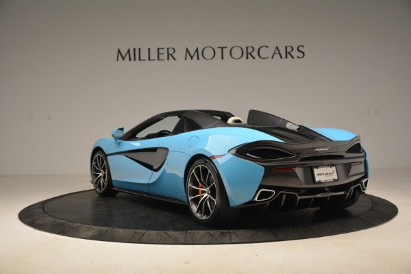 Used 2018 McLaren 570S Spider for sale Sold at Bugatti of Greenwich in Greenwich CT 06830 5