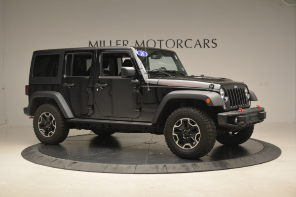 Used 2016 Jeep Wrangler Unlimited Rubicon for sale Sold at Bugatti of Greenwich in Greenwich CT 06830 10