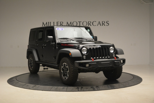 Used 2016 Jeep Wrangler Unlimited Rubicon for sale Sold at Bugatti of Greenwich in Greenwich CT 06830 11