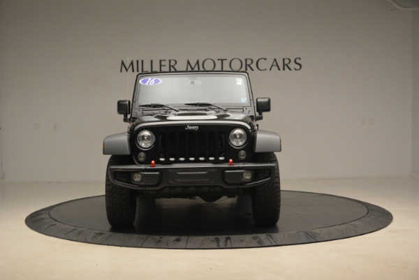 Used 2016 Jeep Wrangler Unlimited Rubicon for sale Sold at Bugatti of Greenwich in Greenwich CT 06830 12