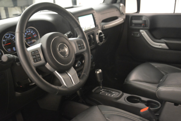 Used 2016 Jeep Wrangler Unlimited Rubicon for sale Sold at Bugatti of Greenwich in Greenwich CT 06830 13