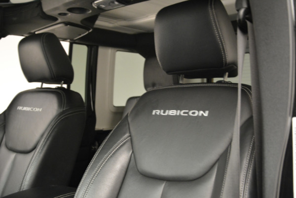 Used 2016 Jeep Wrangler Unlimited Rubicon for sale Sold at Bugatti of Greenwich in Greenwich CT 06830 15