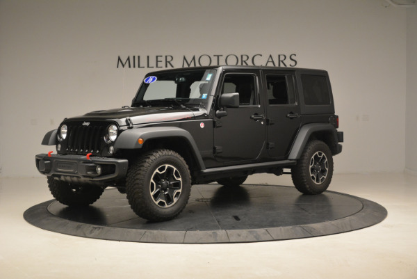 Used 2016 Jeep Wrangler Unlimited Rubicon for sale Sold at Bugatti of Greenwich in Greenwich CT 06830 2