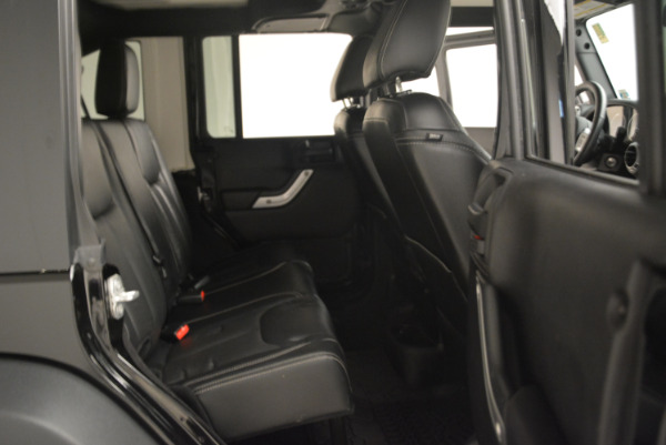 Used 2016 Jeep Wrangler Unlimited Rubicon for sale Sold at Bugatti of Greenwich in Greenwich CT 06830 22