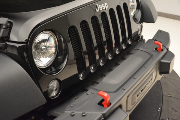 Used 2016 Jeep Wrangler Unlimited Rubicon for sale Sold at Bugatti of Greenwich in Greenwich CT 06830 23