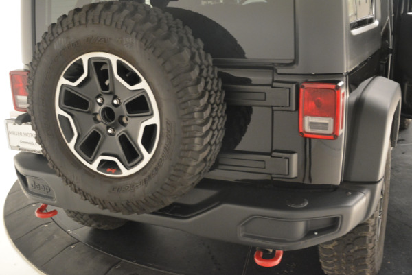 Used 2016 Jeep Wrangler Unlimited Rubicon for sale Sold at Bugatti of Greenwich in Greenwich CT 06830 24