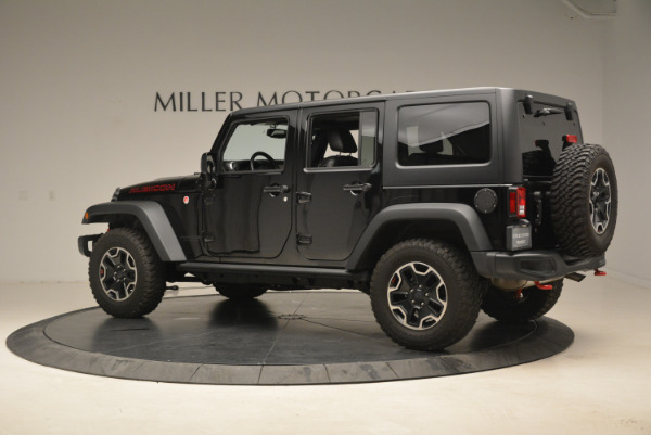 Used 2016 Jeep Wrangler Unlimited Rubicon for sale Sold at Bugatti of Greenwich in Greenwich CT 06830 4