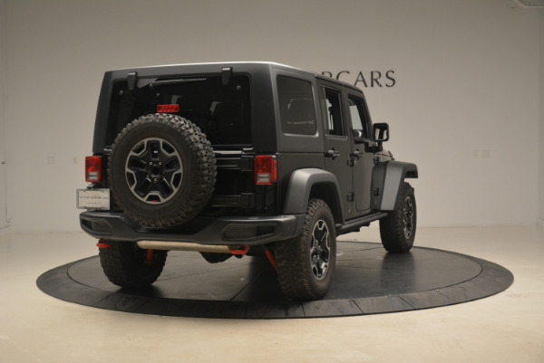 Used 2016 Jeep Wrangler Unlimited Rubicon for sale Sold at Bugatti of Greenwich in Greenwich CT 06830 7