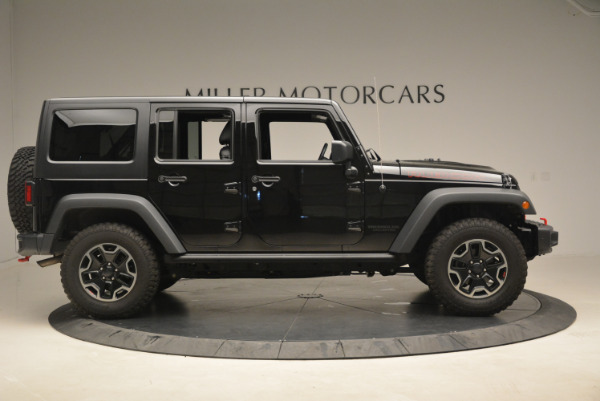 Used 2016 Jeep Wrangler Unlimited Rubicon for sale Sold at Bugatti of Greenwich in Greenwich CT 06830 9