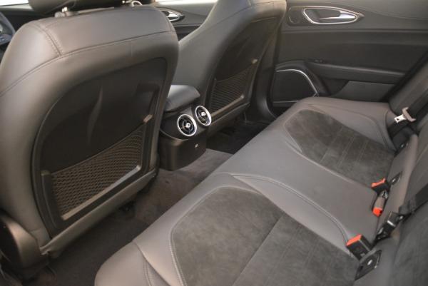 New 2018 Alfa Romeo Giulia Quadrifoglio for sale Sold at Bugatti of Greenwich in Greenwich CT 06830 17