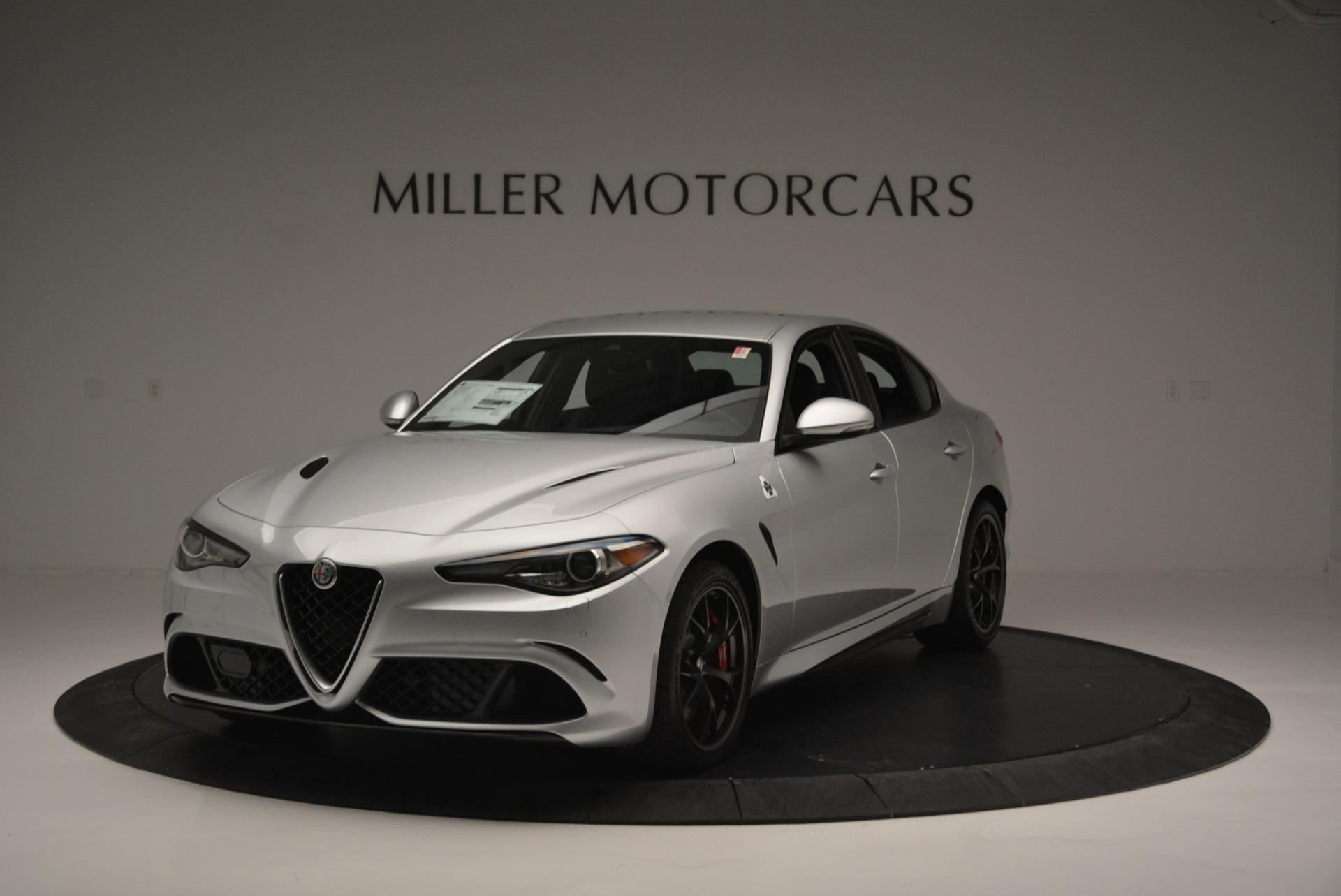 New 2018 Alfa Romeo Giulia Quadrifoglio for sale Sold at Bugatti of Greenwich in Greenwich CT 06830 1