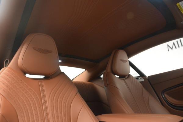 New 2018 Aston Martin DB11 V12 Coupe for sale Sold at Bugatti of Greenwich in Greenwich CT 06830 19