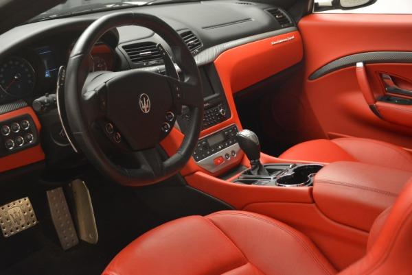 Used 2015 Maserati GranTurismo Sport for sale Sold at Bugatti of Greenwich in Greenwich CT 06830 13