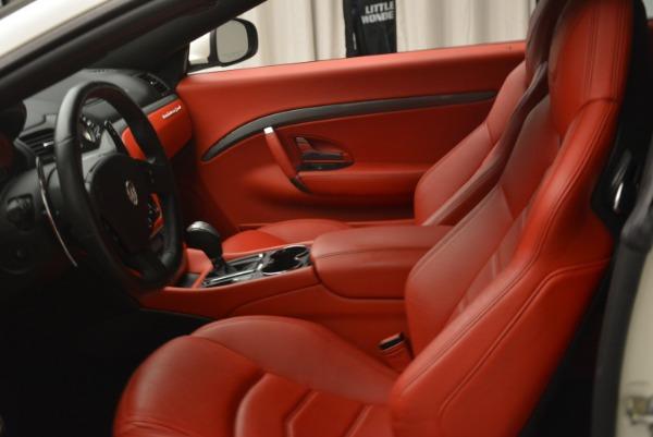 Used 2015 Maserati GranTurismo Sport for sale Sold at Bugatti of Greenwich in Greenwich CT 06830 14