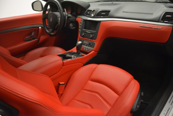 Used 2015 Maserati GranTurismo Sport for sale Sold at Bugatti of Greenwich in Greenwich CT 06830 19