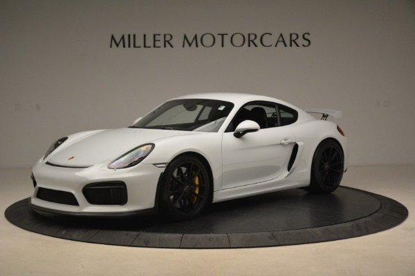 Used 2016 Porsche Cayman GT4 for sale Sold at Bugatti of Greenwich in Greenwich CT 06830 2