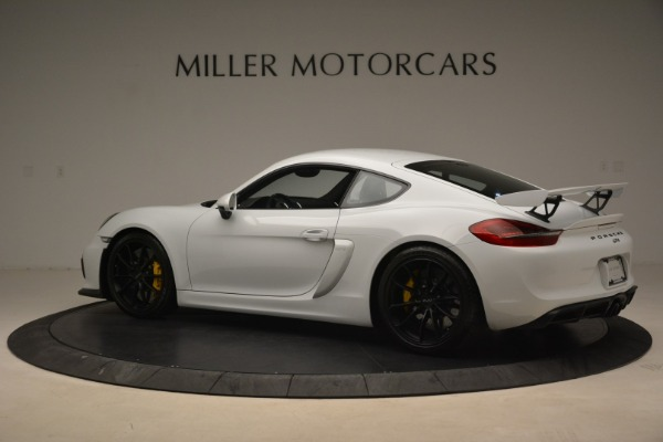 Used 2016 Porsche Cayman GT4 for sale Sold at Bugatti of Greenwich in Greenwich CT 06830 4