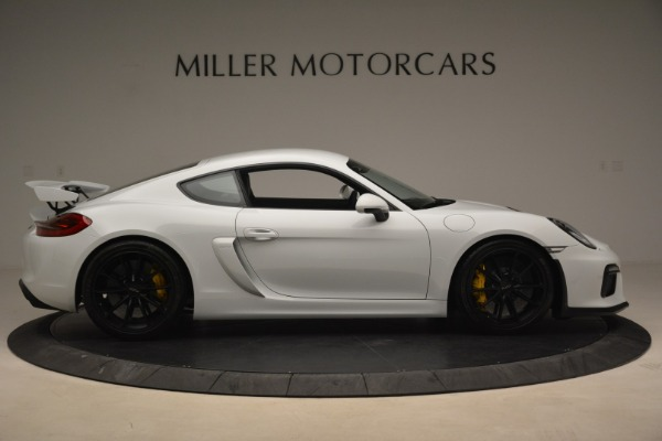 Used 2016 Porsche Cayman GT4 for sale Sold at Bugatti of Greenwich in Greenwich CT 06830 9