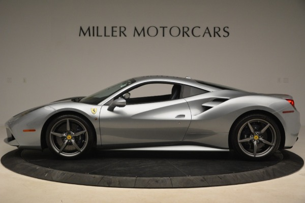 Used 2017 Ferrari 488 GTB for sale Sold at Bugatti of Greenwich in Greenwich CT 06830 3