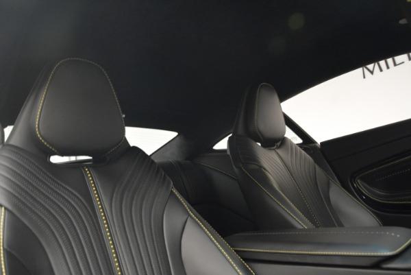 Used 2018 Aston Martin DB11 V8 Coupe for sale Sold at Bugatti of Greenwich in Greenwich CT 06830 18