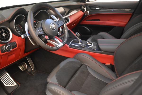 New 2018 Alfa Romeo Stelvio Quadrifoglio for sale Sold at Bugatti of Greenwich in Greenwich CT 06830 13