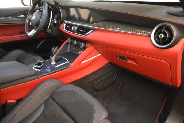 New 2018 Alfa Romeo Stelvio Quadrifoglio for sale Sold at Bugatti of Greenwich in Greenwich CT 06830 19