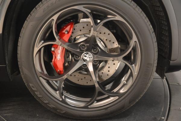 New 2018 Alfa Romeo Stelvio Quadrifoglio for sale Sold at Bugatti of Greenwich in Greenwich CT 06830 25