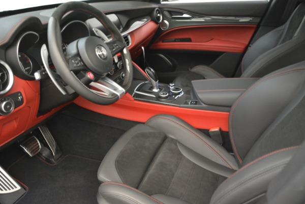 New 2018 Alfa Romeo Stelvio Quadrifoglio for sale Sold at Bugatti of Greenwich in Greenwich CT 06830 14