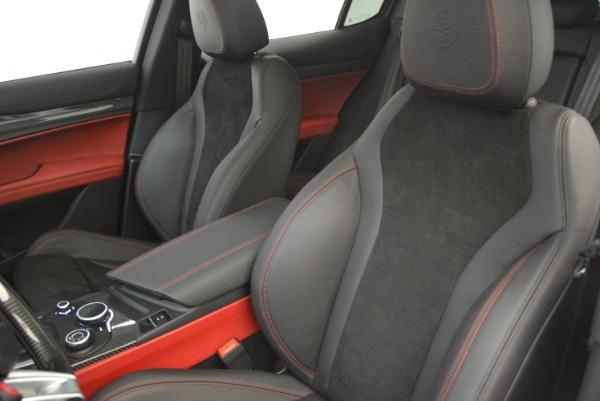 New 2018 Alfa Romeo Stelvio Quadrifoglio for sale Sold at Bugatti of Greenwich in Greenwich CT 06830 16