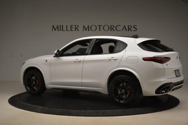 New 2018 Alfa Romeo Stelvio Quadrifoglio for sale Sold at Bugatti of Greenwich in Greenwich CT 06830 4