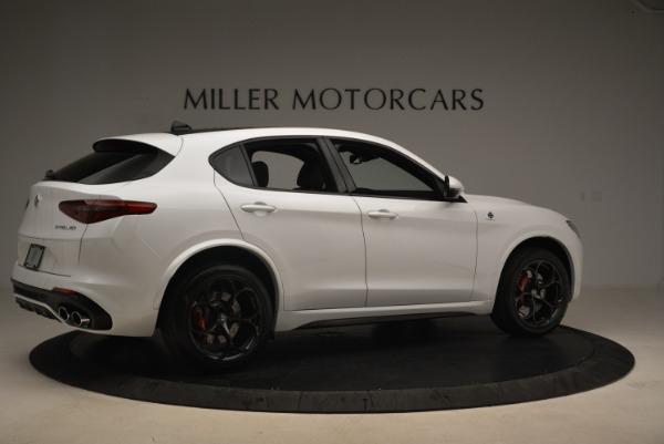 New 2018 Alfa Romeo Stelvio Quadrifoglio for sale Sold at Bugatti of Greenwich in Greenwich CT 06830 8