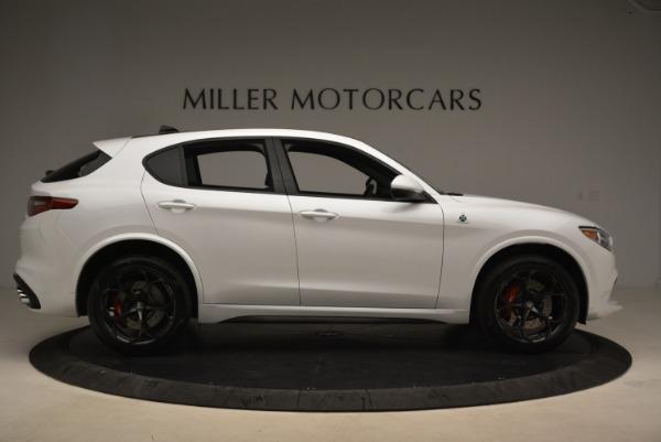 New 2018 Alfa Romeo Stelvio Quadrifoglio for sale Sold at Bugatti of Greenwich in Greenwich CT 06830 9