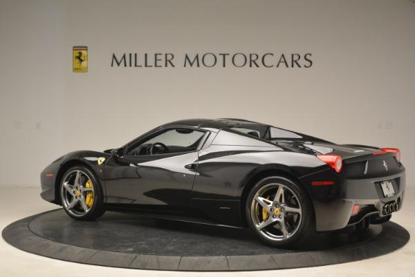 Used 2013 Ferrari 458 Spider for sale Sold at Bugatti of Greenwich in Greenwich CT 06830 16