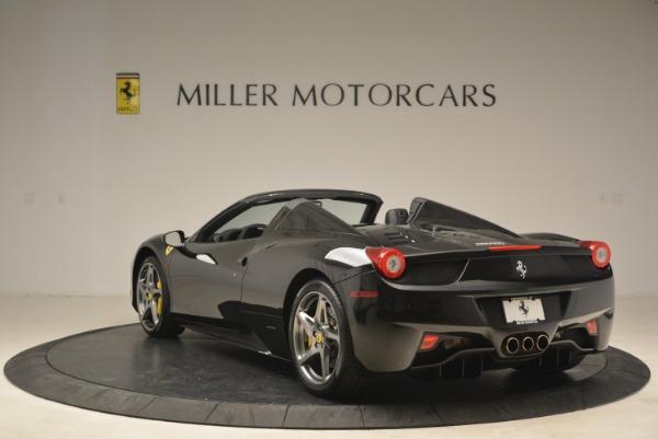 Used 2013 Ferrari 458 Spider for sale Sold at Bugatti of Greenwich in Greenwich CT 06830 5