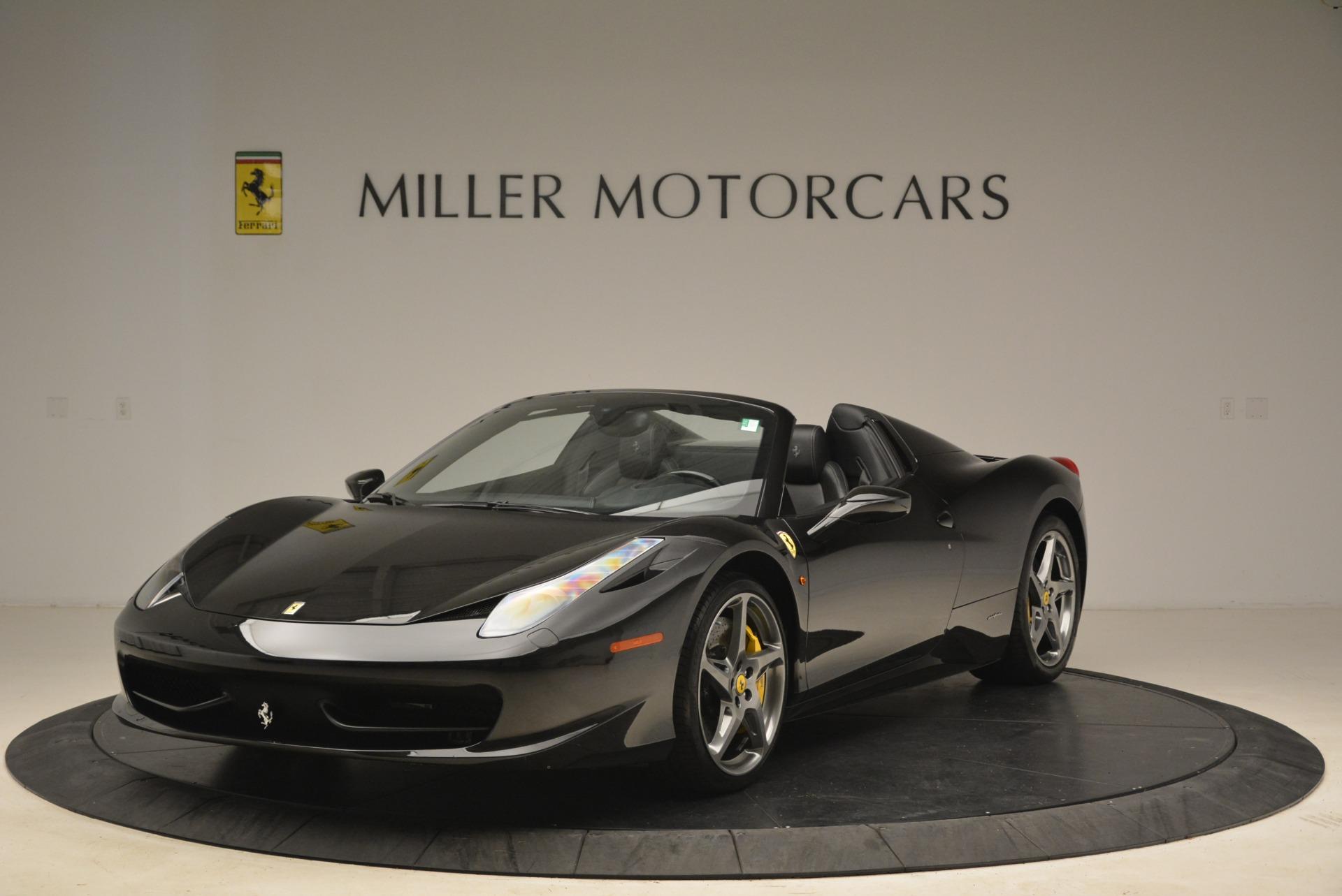 Used 2013 Ferrari 458 Spider for sale Sold at Bugatti of Greenwich in Greenwich CT 06830 1