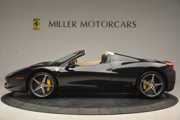Used 2014 Ferrari 458 Spider for sale Sold at Bugatti of Greenwich in Greenwich CT 06830 3