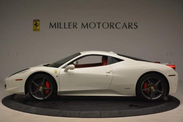 Used 2014 Ferrari 458 Italia for sale Sold at Bugatti of Greenwich in Greenwich CT 06830 3