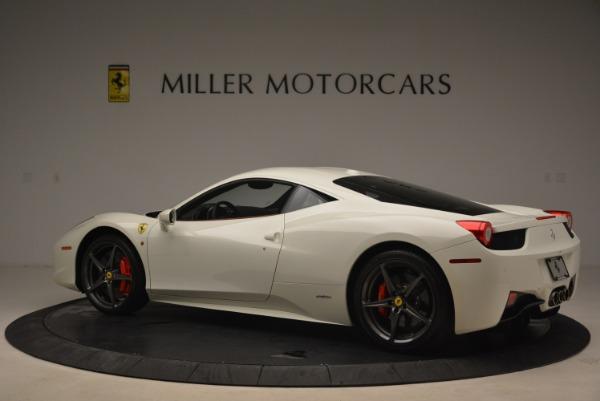 Used 2014 Ferrari 458 Italia for sale Sold at Bugatti of Greenwich in Greenwich CT 06830 4