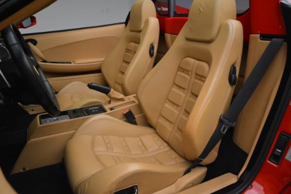 Used 2008 Ferrari F430 Spider for sale Sold at Bugatti of Greenwich in Greenwich CT 06830 27