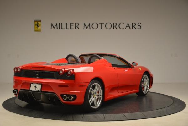 Used 2008 Ferrari F430 Spider for sale Sold at Bugatti of Greenwich in Greenwich CT 06830 7