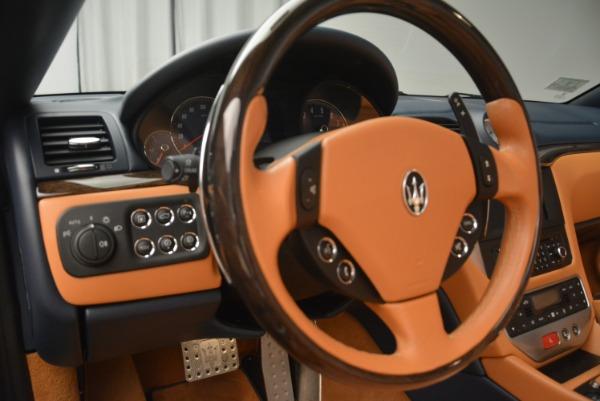 Used 2014 Maserati GranTurismo Sport for sale Sold at Bugatti of Greenwich in Greenwich CT 06830 26