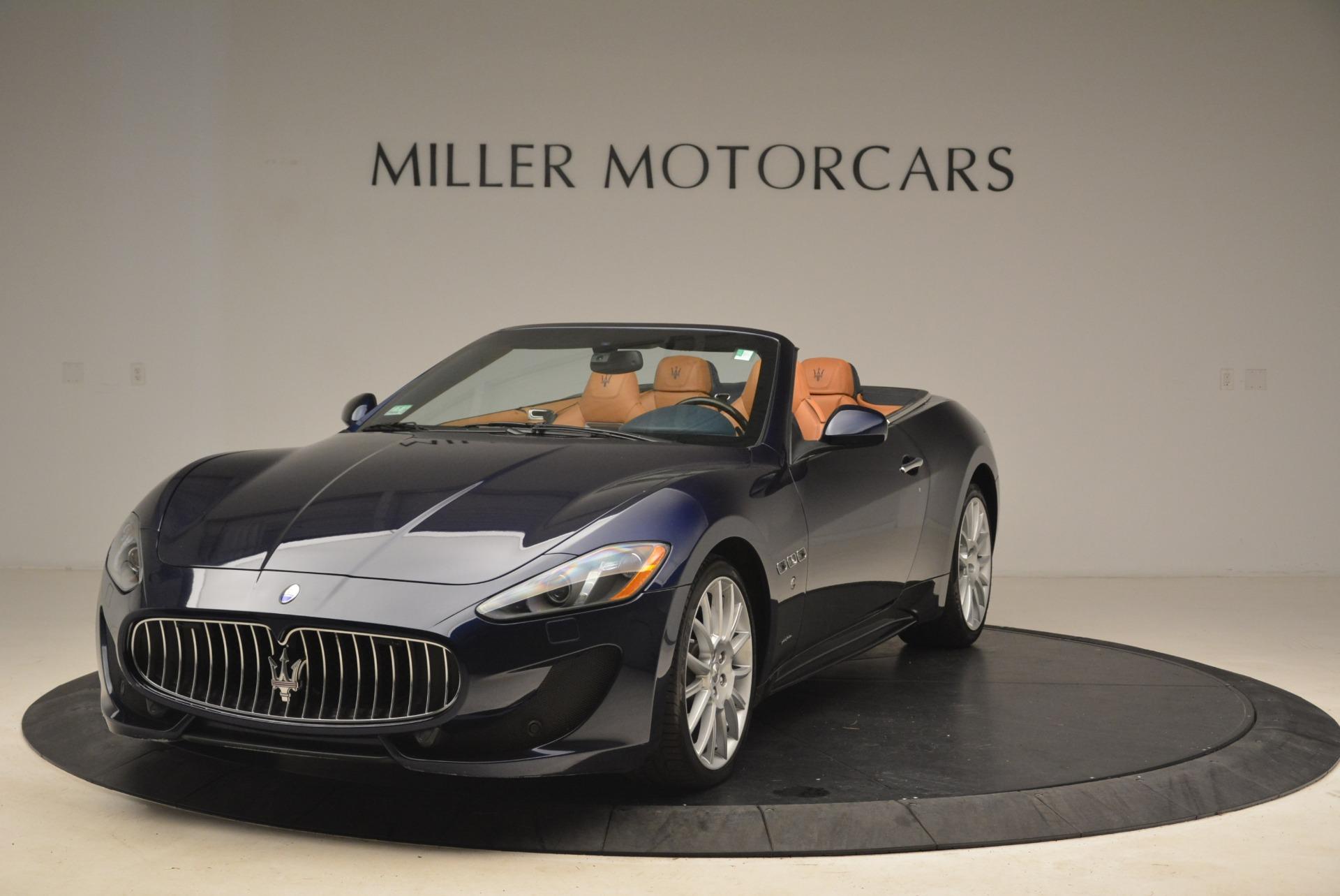 Used 2014 Maserati GranTurismo Sport for sale Sold at Bugatti of Greenwich in Greenwich CT 06830 1
