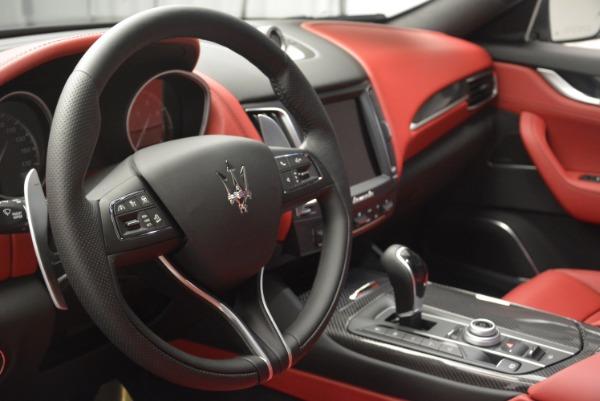 New 2018 Maserati Levante S Q4 GranSport for sale Sold at Bugatti of Greenwich in Greenwich CT 06830 15