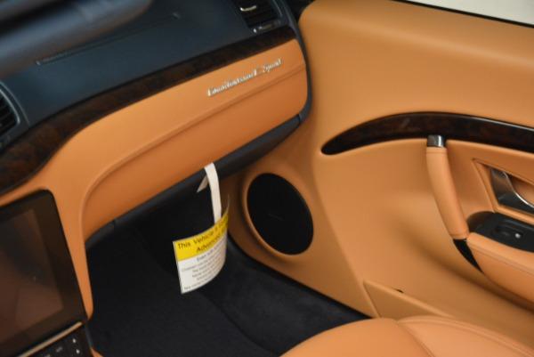 New 2018 Maserati GranTurismo Sport Convertible for sale Sold at Bugatti of Greenwich in Greenwich CT 06830 17