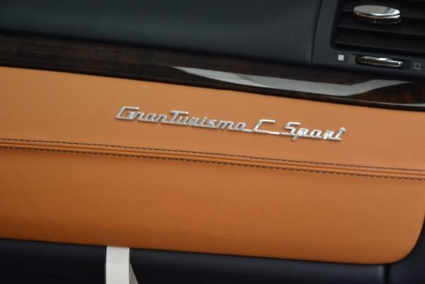 New 2018 Maserati GranTurismo Sport Convertible for sale Sold at Bugatti of Greenwich in Greenwich CT 06830 20