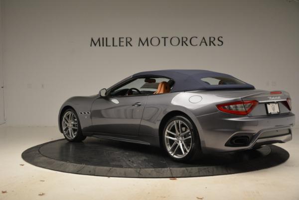 New 2018 Maserati GranTurismo Sport Convertible for sale Sold at Bugatti of Greenwich in Greenwich CT 06830 5