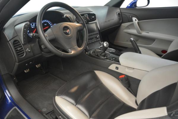Used 2006 Chevrolet Corvette Z06 for sale Sold at Bugatti of Greenwich in Greenwich CT 06830 13
