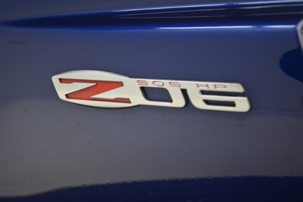 Used 2006 Chevrolet Corvette Z06 for sale Sold at Bugatti of Greenwich in Greenwich CT 06830 21