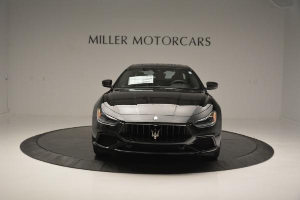 New 2018 Maserati Ghibli SQ4 GranSport Nerissimo for sale Sold at Bugatti of Greenwich in Greenwich CT 06830 12