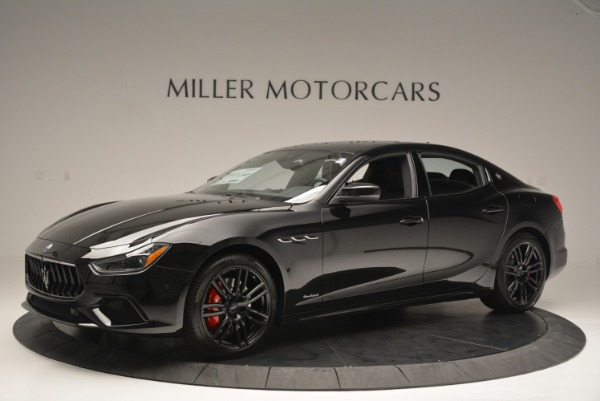 New 2018 Maserati Ghibli SQ4 GranSport Nerissimo for sale Sold at Bugatti of Greenwich in Greenwich CT 06830 2